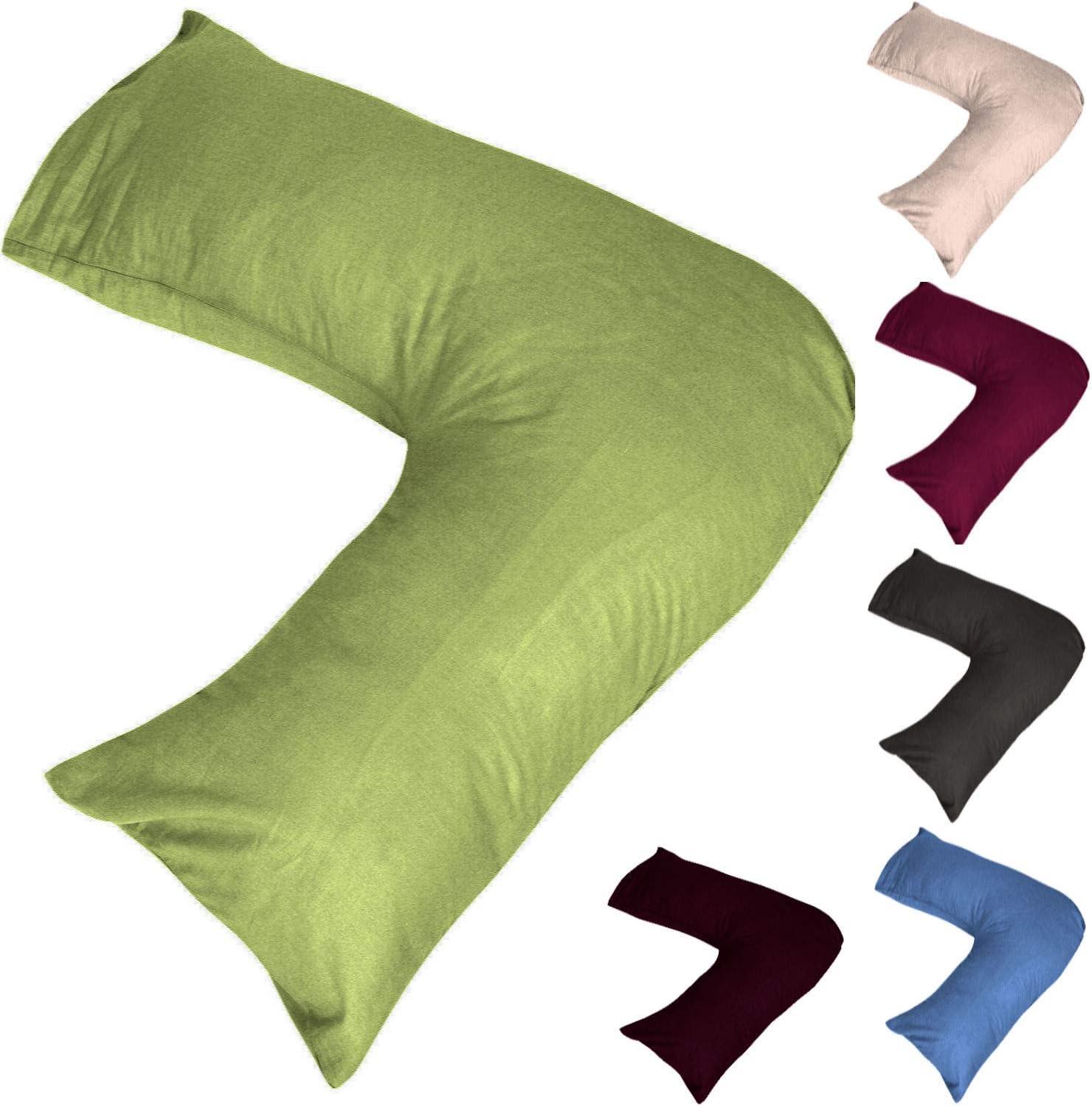 V Pillowcase for V Shaped Pillows Ivory