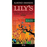 Lily's Sweets Dark Almond Chocolaty Bar, 85g