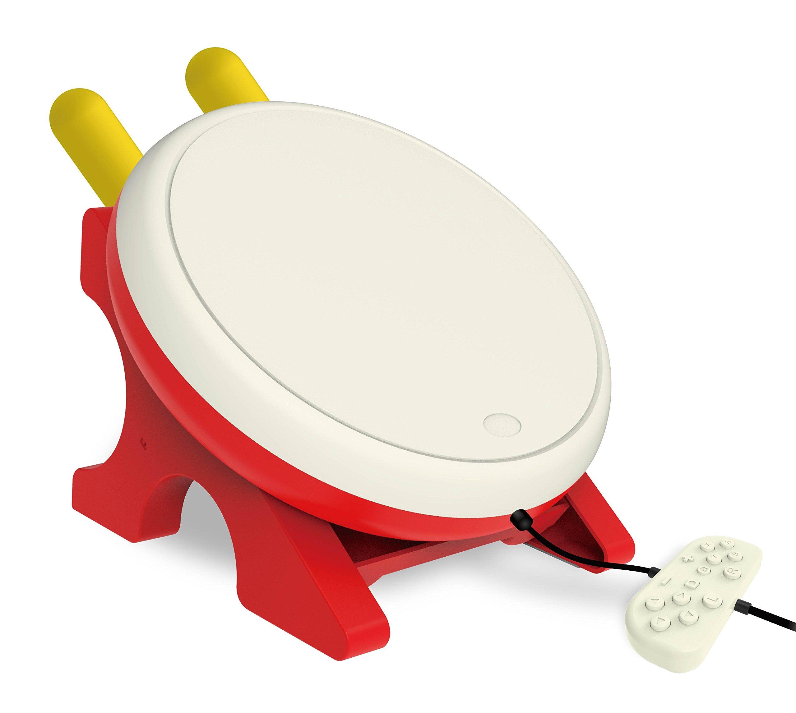 ESYWEN Nintendo Switchに対応太鼓の達人適用太鼓とバチ 太鼓の達人専用コントローラー 感度抜群の太鼓コントローラー