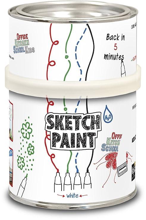 MagPaint - Pintura para crear pizarra blanca (0,5 L), color ...