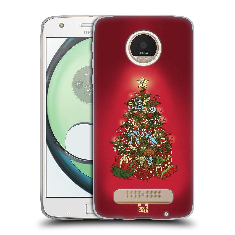 Amazon.com: Head Case Designs – Festive – Árbol de Navidad ...