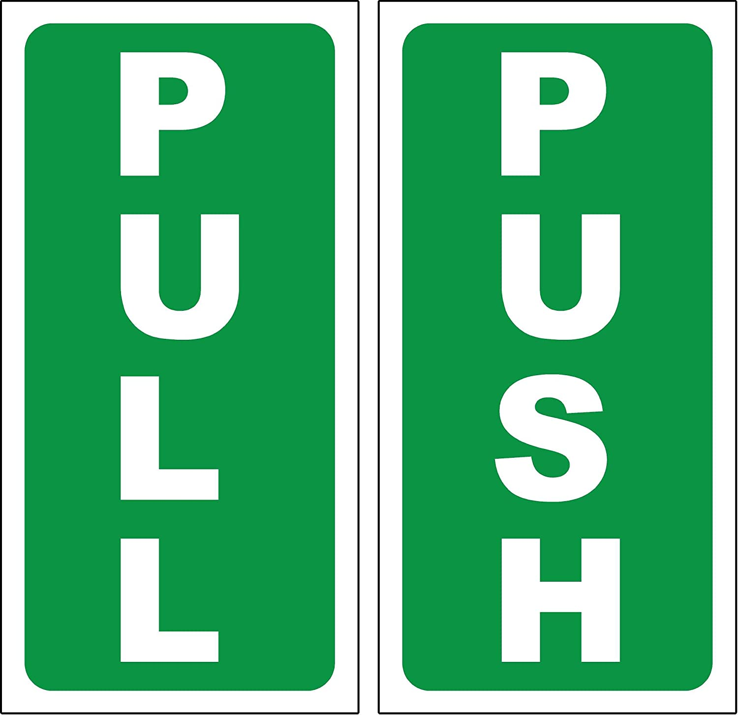 Push Pull Stickers For Doors In Adelaide