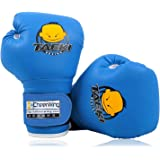 Cheerwing 4oz PU Kids Boxing Gloves Children Cartoon MMA Sparring Dajn Training Gloves Age 5-10 Years