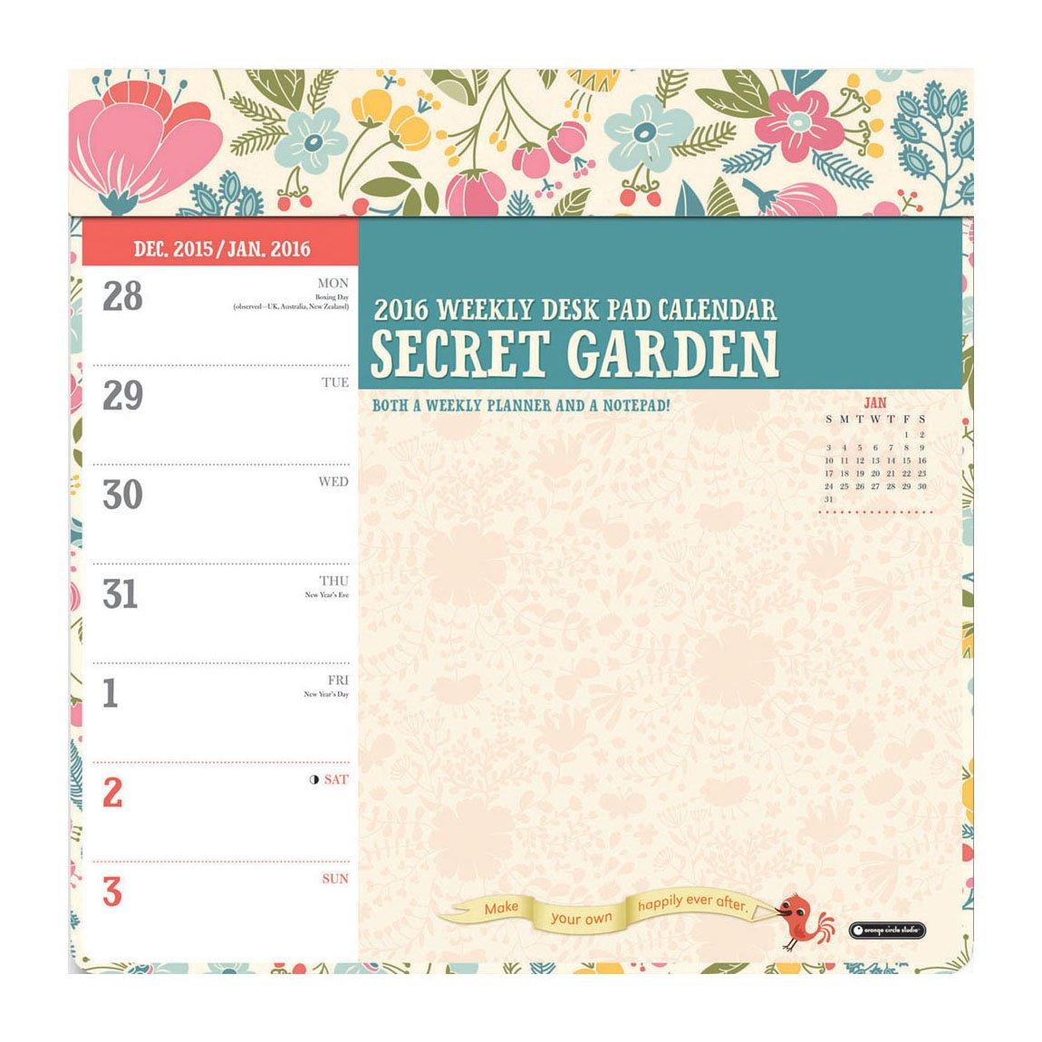 Zoo Weekly Calendar : Weekly desk pad calendar hostgarcia