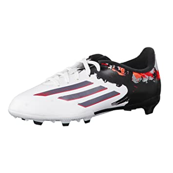 468f9a34efff Adidas Messi 10.3 FG Junior Football Boots Firm Ground Soccer Shoes White  UK Sizes 11K - 5.5 Youth New B23885 (UK11.5K /EU30): Amazon.co.uk: Sports &  ...