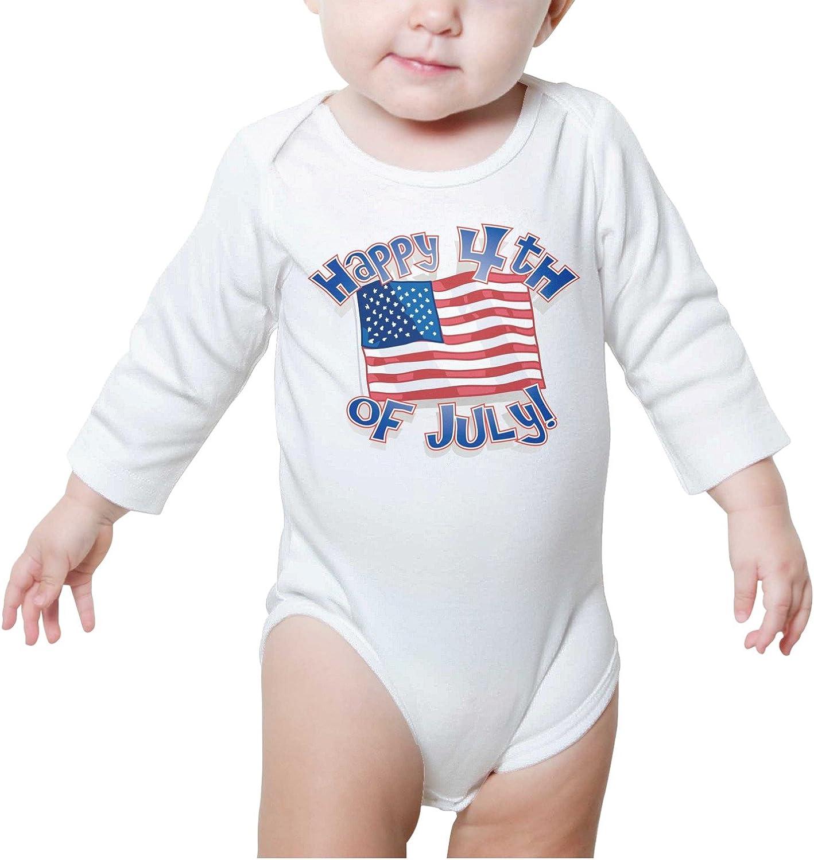 United Kingdom Flag /& Canada Flag Baby Boy Long Sleeve Bodysuit Organic Coverall