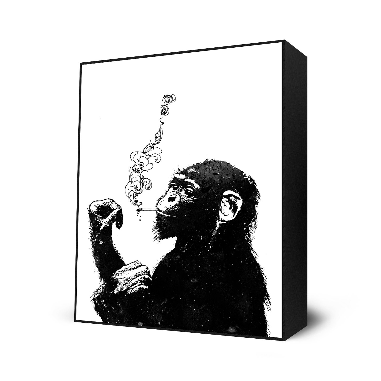 Bitch, Don't Kill My Vibe by Alex Cherry - Mini Art Block Print - 10 x 12 inches by Eyes On Walls