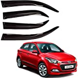 Autofact Bossy Car Rain Wind Door Visor Side Window Deflector Compatible for Hyundai Elite I20