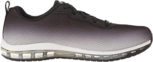 Skechers 12640BKW Skech Air Element Sneaker donna, colore: NeroBianco