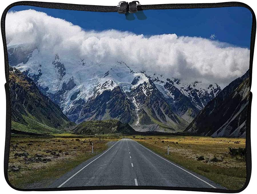C COABALLA Laptop Bag Mountain Highway Road Up to Mountains South Laptop Sleeve Bag Protective Case Bag Compatible with Any Notebook AM023211 10 inch//10.1 inch