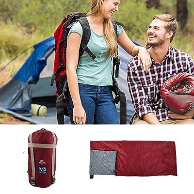 Sac de couchage enveloppe léger XL avec sac de transport pour camping randonnée pédestre en plein air
