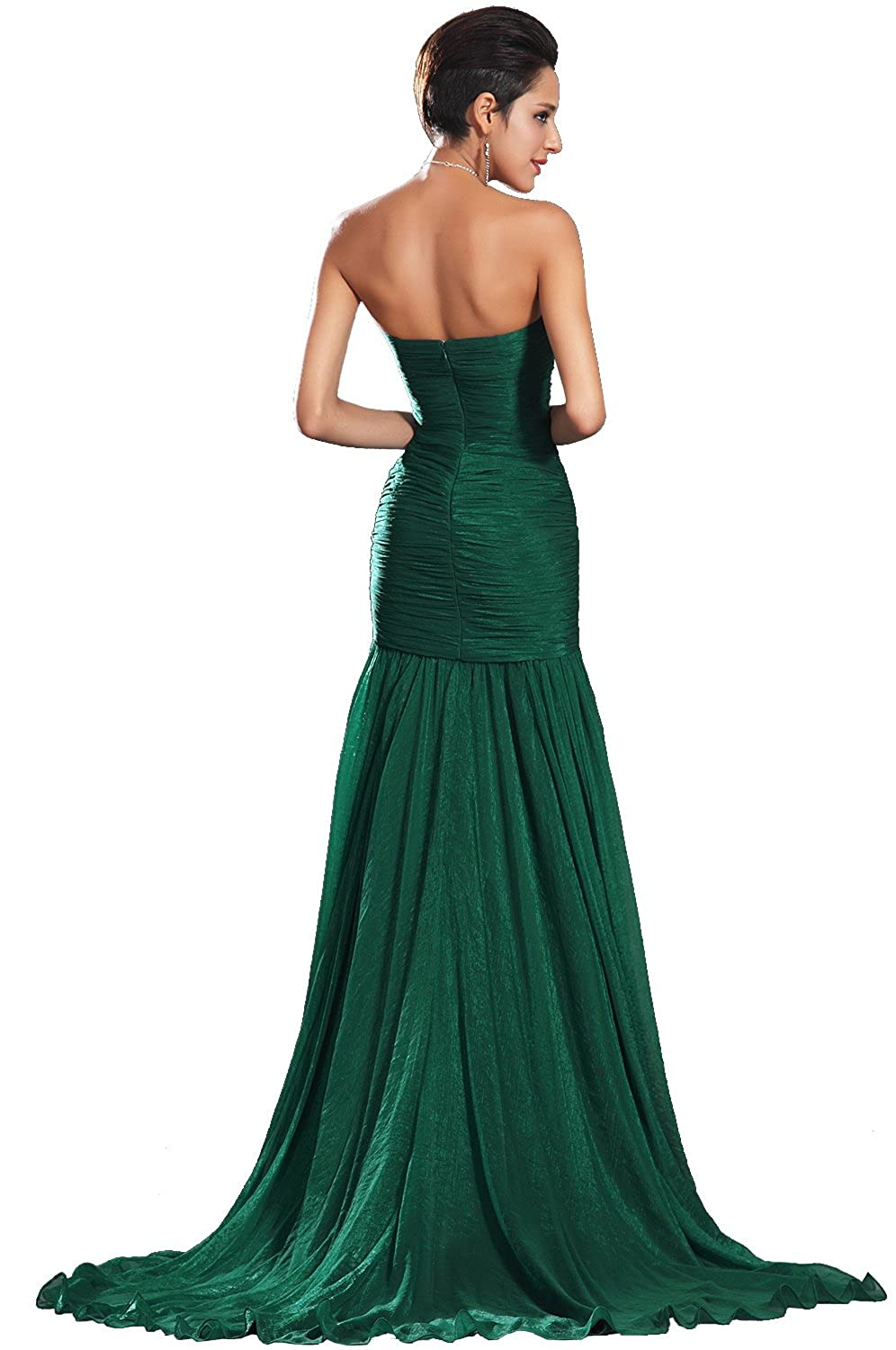 eDressit New Strapless Green Evening Dress Prom Ball Gown (00134604), SZ12: Amazon.co.uk: Clothing