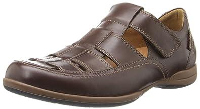 Mephisto Mens Sam Brown Leather Sandals 44 EU Originales En Línea Barata 6aBxDrVQF