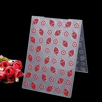 Bottone plantilla de plástico plantilla para repujado molde crear diseño en relieve para tarjetas DIY Scrapbooking álbum de fotos para manualidades ...
