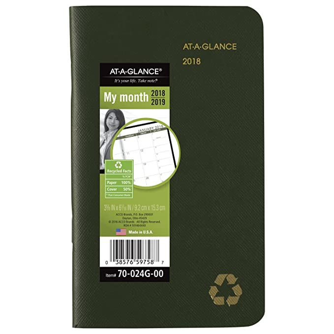 Amazon.com: At-A-Glance – Calendario Planificador de ...