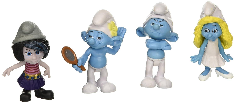 Amazon.com: Smurfs Smurfette, Clumsy, Hackus, Papa Cylinder ...