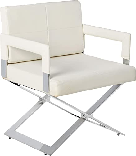 "Milan Daphne Oversized ""X"" Base Arm Chair"
