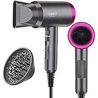 Professional Ionic Salon Hair Dryer, Powerful 1600 watt Ceramic Tourmaline Blow Dryer, Pro Ion Quiet Hairdryer For Home…