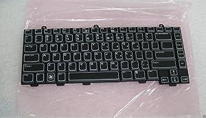 Dell OEM MT749 Backlit Black Keyboard Alienware M15X