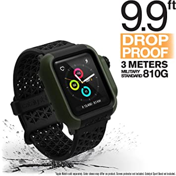 Catalyst Etui de Protection Coque Apple Watch 38mm Série 3 et Série 2 Anti Rayures Ultra