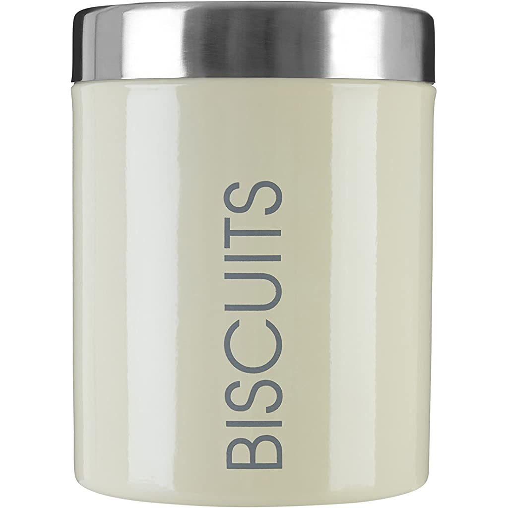Premier Housewares Cream Biscuit Canister