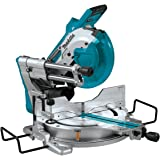 """Makita XSL04ZU 18V x2 LXT Lithium-Ion (36V) Brushless Cordless 10"""" Dual-Bevel Sliding Compound Miter Saw with Aws & Laser, TOOL Only"""
