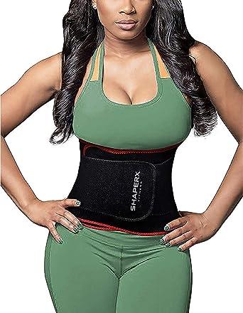 New Neoprene Black Body Shaper Steel Boned Waist Trainer Burn Fat Weight Loss LC