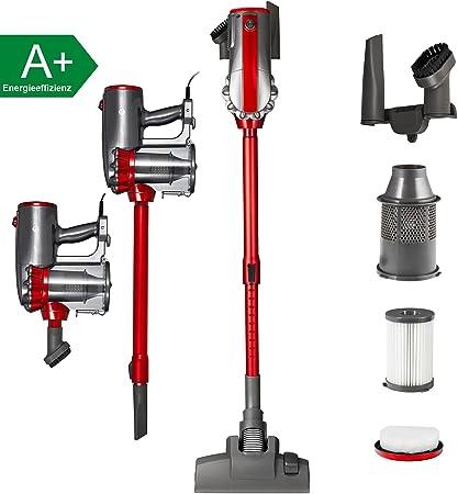 Balter Vento H2 filtro de aspiradora de mano aspiradora Hepa – Aspirador ciclónico sin bolsa ciclónico con accesorios, color: rojo: Amazon.es: Hogar