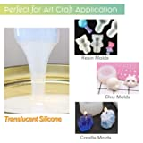 LET'S RESIN Silicone Molds Making Kit Translucent