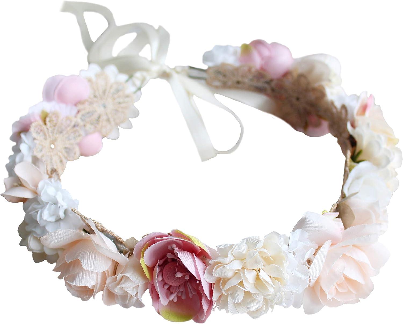 Flower Tiara Bohemian flower crown Bridal Crown Floral Hair Wreath Flower girl Crown Aqua Flower Crown Floral crown Flower Halo