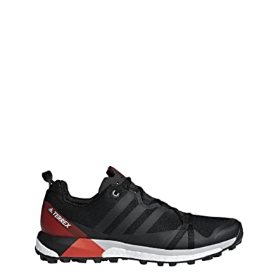 d44c1bd5855b Image Unavailable. Image not available for. Color  adidas outdoor Men s  Terrex Agravic Black Carbon Hi-Res Red 11 D US