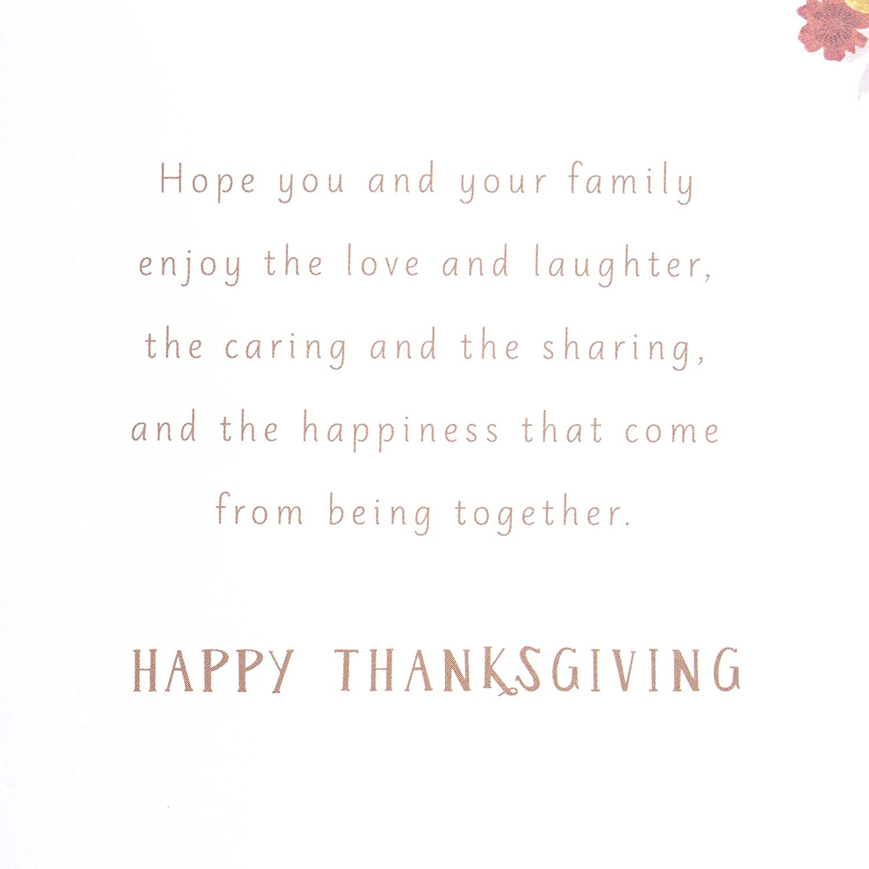 So Thankful Hallmark Signature Thanksgiving Card