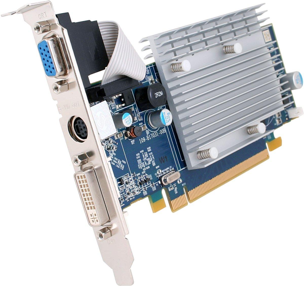 SAPPHIRE Radeon HD2400PRO 512 MB DDR2 DVI/TVO/VGA Tarjeta ...