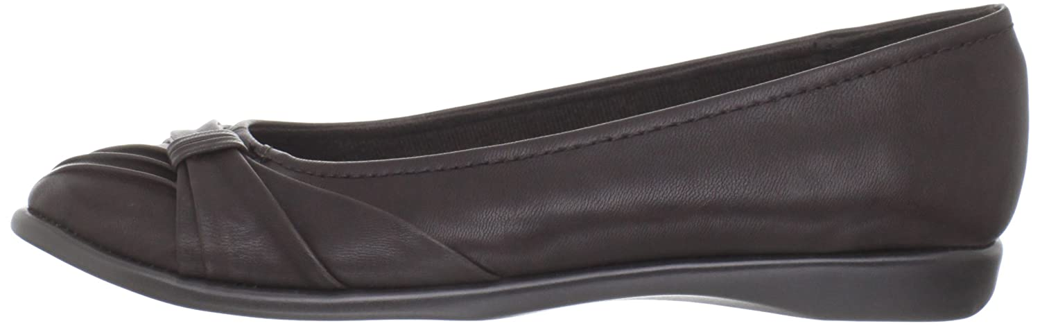 Easy Street Women's Giddy Ballet Flat B007IP0IF2 7 N US|Brown