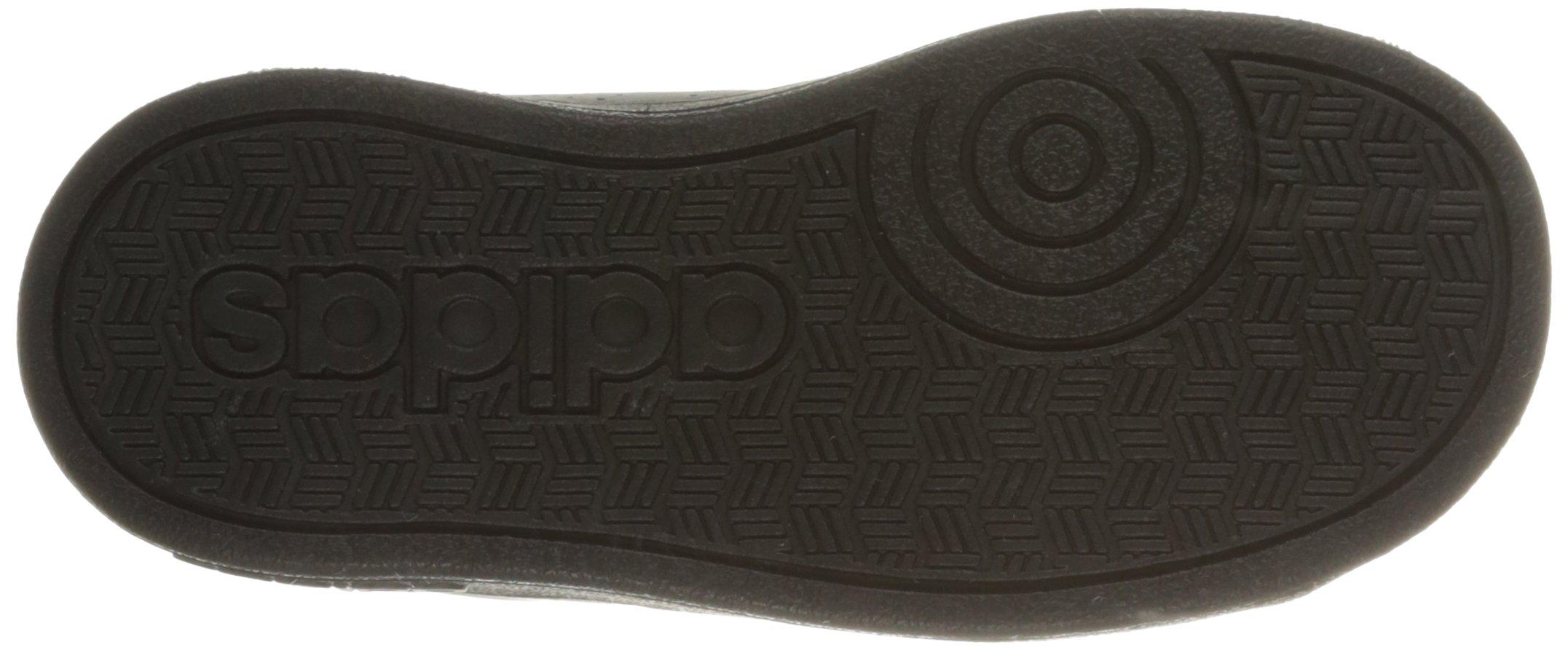 Adidas neo boys scarpa, vs vantaggio pulito dell'inf scarpa, boys nero / nero 21cfd4