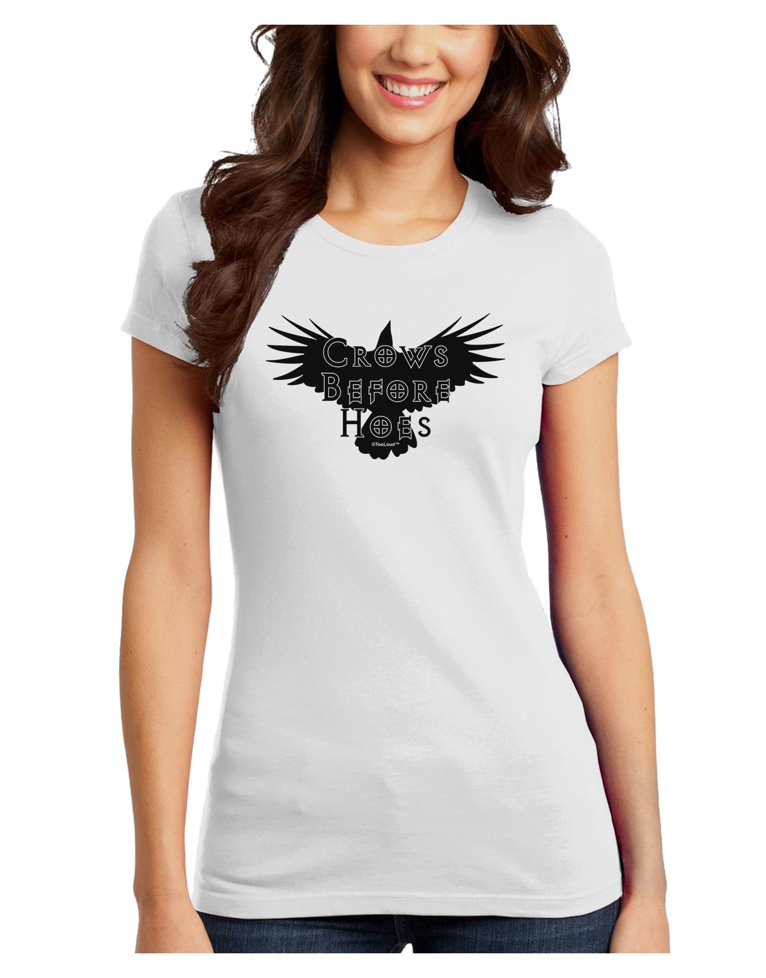 Crows Before Hoes Design T Shirt 2909