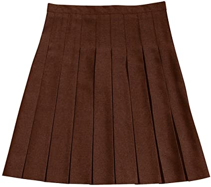 25bc6a711f Girls School Uniform Skirt 100% Polyester Stitch Down All Round Pleated  Skirts Girl Schoolwear: Amazon.co.uk: Clothing