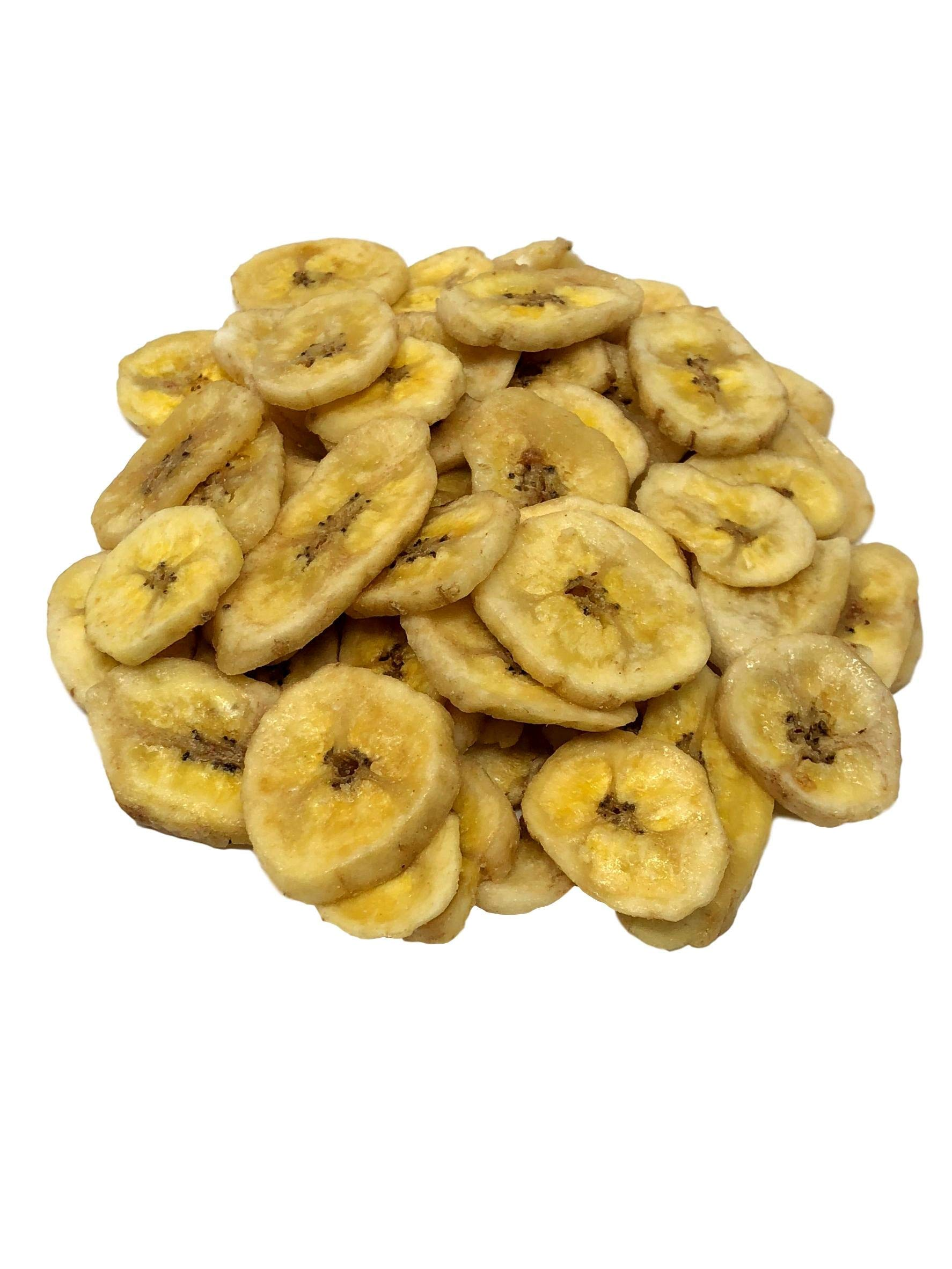 Delice - Organic Sweetened Banana Chips | All Organic Ingredients and Non-GMO | No Artificial Flavors and No Sulphure|Whole Organic Banana Chips In Resealable Bags!!! (2 LBS) by Delice