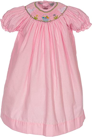 Carriage Boutique Easter Bunnies Bishop Dress