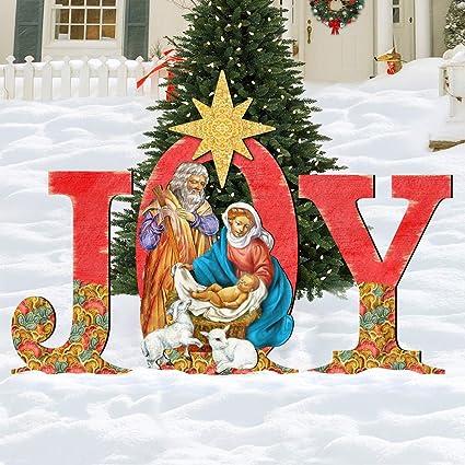 Amazon.com: G.DeBrekht 8121456F - Cartel de Navidad con ...