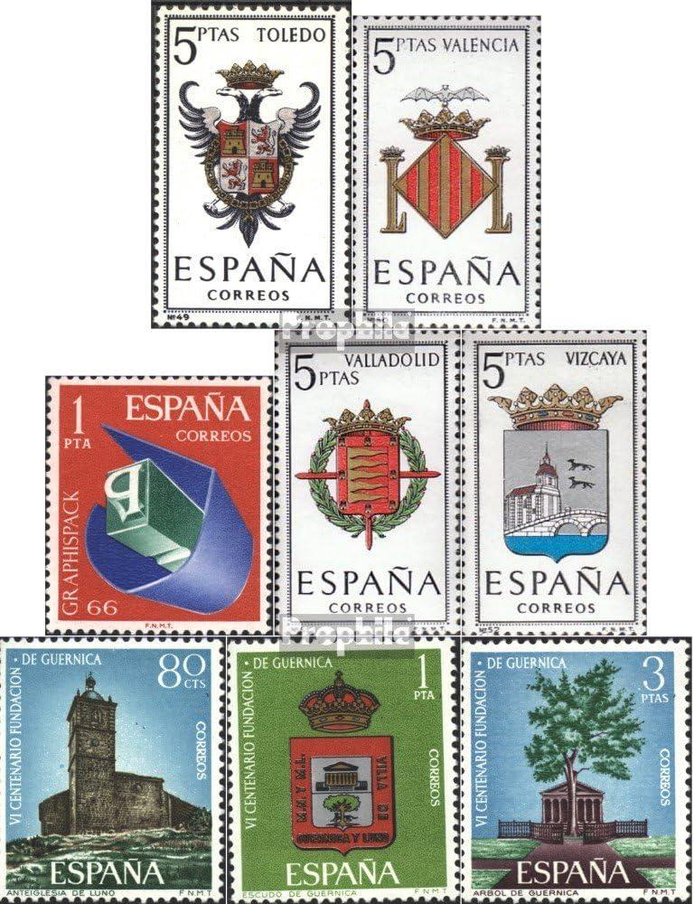 Prophila Collection España Michel.-No..: 1591,1592,1597,1598, 1609,1610-1612 (Completa.edición.) 1966 Sellos Especiales (Sellos para los coleccionistas): Amazon.es: Juguetes y juegos