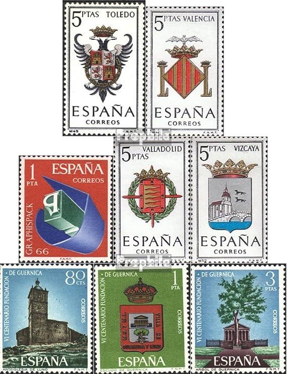 Prophila Collection España Michel.-No..: 1591,1592,1597,1598, 1609 ...
