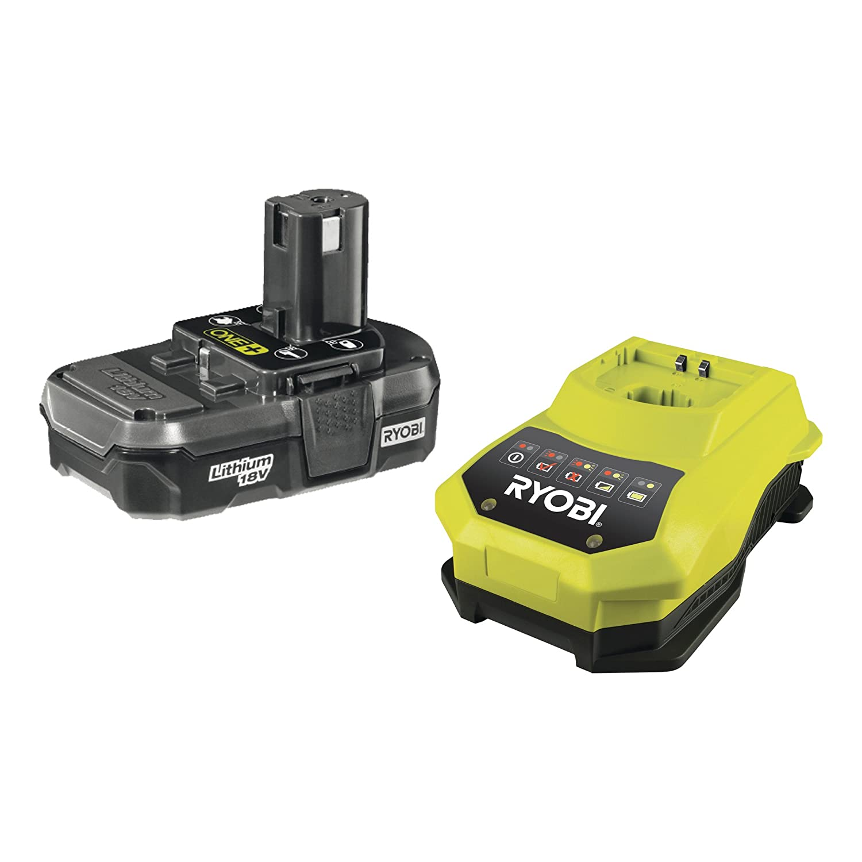 Ryobi RBC18L13 ONE+ 18V Battery and Charger Kit (1x1.3Ah)