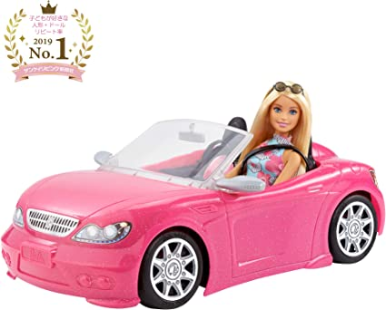Doll and Car Doll Play Fun Collect Toy Barbie