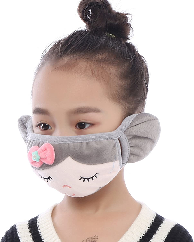 Brave Tour Warmer Mask Anti Dust Anti-Fog Windproof Earmuff for Girls Boys