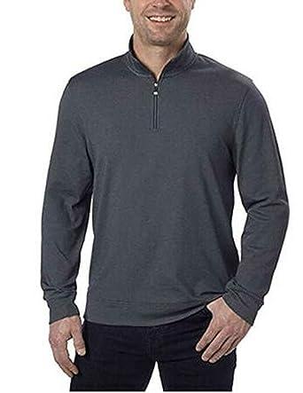 8db0311c281f Calvin Klein Jeans Men s 1 4-Zip Pullover at Amazon Men s Clothing ...