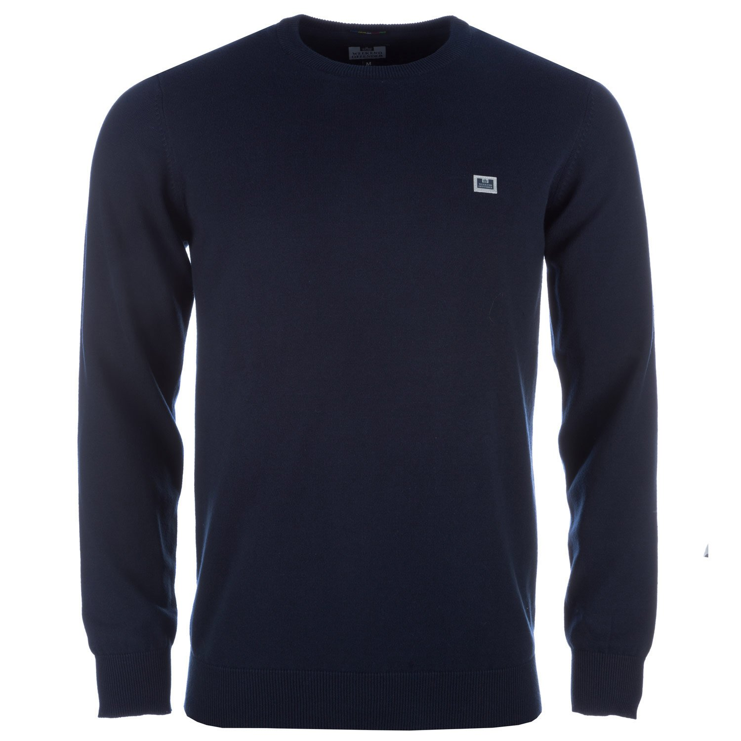 Weekend Offender Navy Mens Holliday Crew Knit
