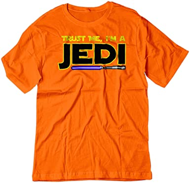 Amazon.com: BSW Youth Trust Me I m A Jedi Star Wars Saber ...