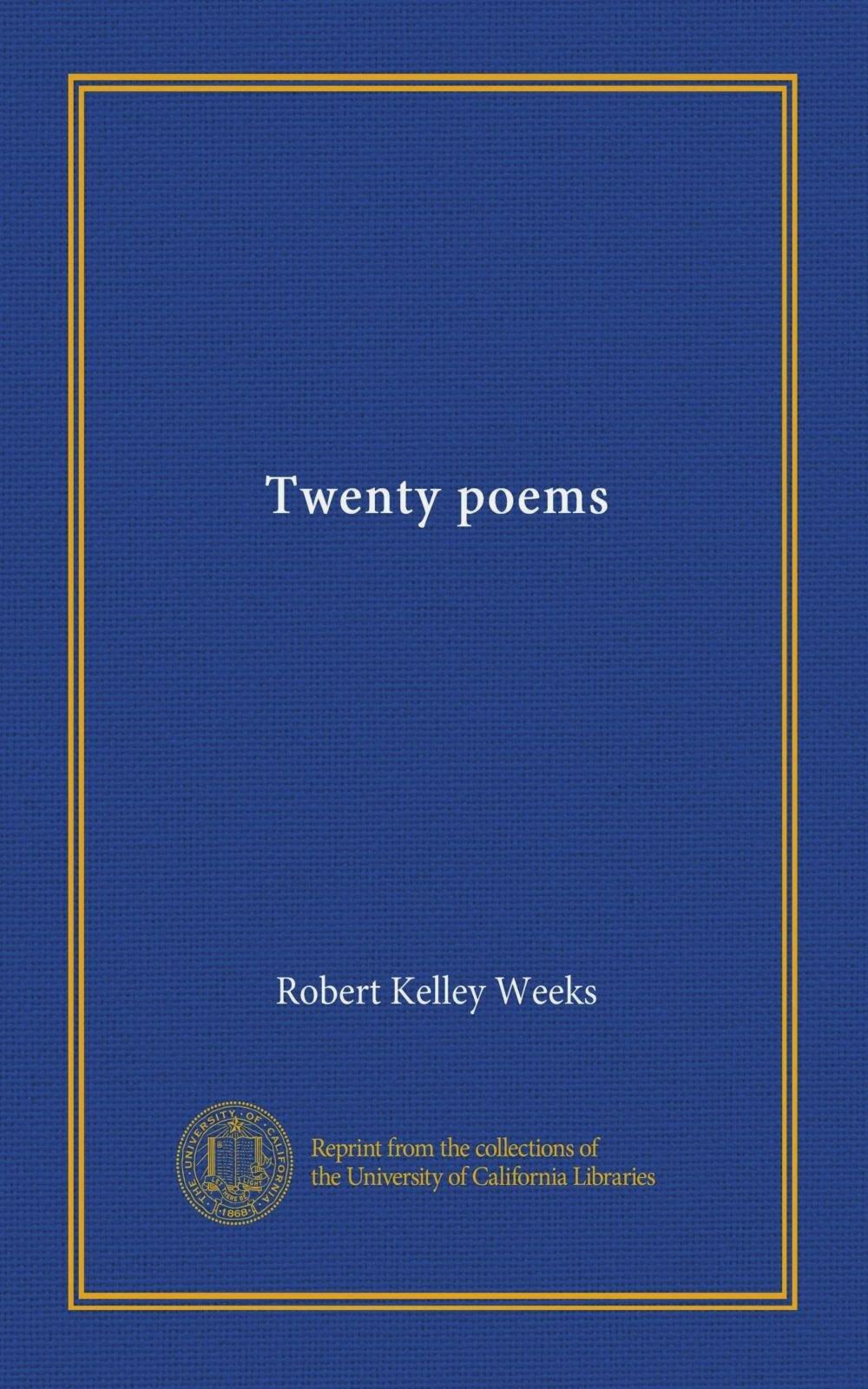 Twenty poems PDF