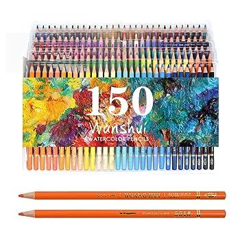 Wanshui Set of 150 Watercolor Pencil